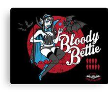 Bloody Bettie Canvas Print