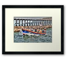 Whitby's Old Lifeboat, RNLI Mary Ann Hepworth Framed Print