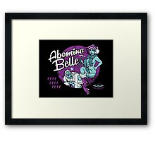 Abomina Belle  Framed Print