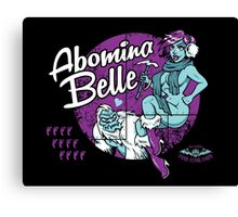 Abomina Belle  Canvas Print