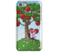 Boy with Apple Tree iPhone Case/Skin