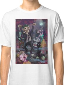 Cartoon Zombie Party Classic T-Shirt
