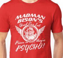 Madman Bison's Used Auto Unisex T-Shirt