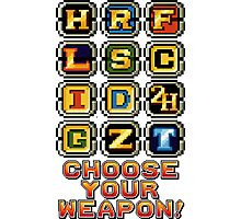 Metal Slug Weapons Photographic Print