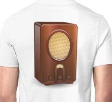 Radio, Old School, Vintage, Historic Unisex T-Shirt
