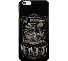 WereWhiskey iPhone Case/Skin