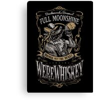 WereWhiskey Canvas Print