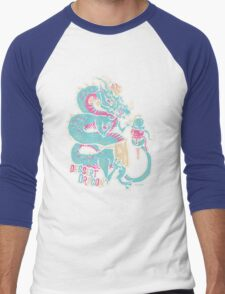 Dessert Dragon Men's Baseball ¾ T-Shirt