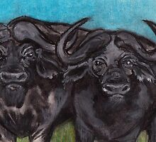 Big 5 - Buffalo by Mariaan M Krog Fine Art Portfolio