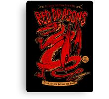 Red Dragons Canvas Print