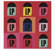 Vinyl LP Pop Art 2 by retrorebirth