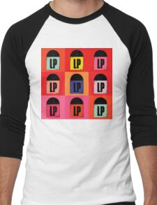 Vinyl LP Pop Art 2 Men's Baseball ¾ T-Shirt