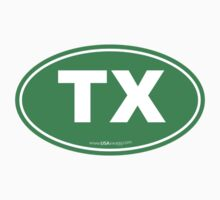 Texas TX Euro Oval GREEN by USAswagg2