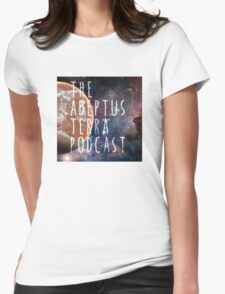 Adeptus Terra Podcast Womens Fitted T-Shirt
