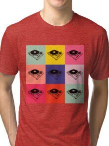 1200 Record Turntable T-Shirt Tri-blend T-Shirt