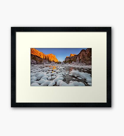 Gates to the Valley Framed Print