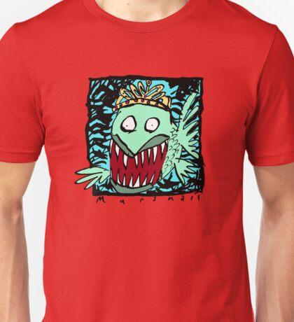 Piranha In A Tiara Unisex T-Shirt