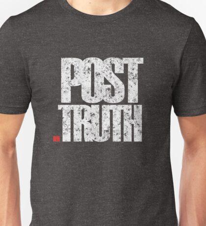 POST TRUTH = TRUE LIE Unisex T-Shirt