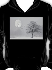 Snow Geese In The Snow T-Shirt