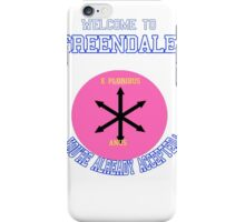 Welcome To Greendale! iPhone Case/Skin