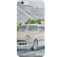 Pontiac at the Beach Motel iPhone Case/Skin