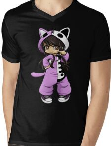 Aphmau As a Cat Mens V-Neck T-Shirt