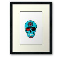 Skull of Rock. Framed Print
