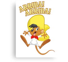Funny is speedy gonzales new t-shirt Canvas Print