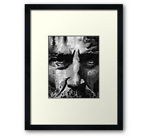The Elder I Framed Print