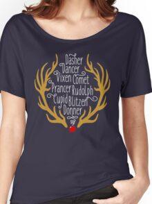 Reindeer Women's Relaxed Fit T-Shirt