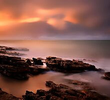 Sunset..........My favourite Place.........West Coast of Tasmania by Imi Koetz