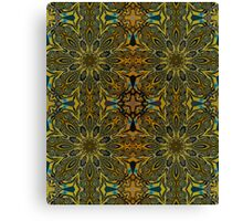 Kaleidoscope flowers in attractive colors Canvas Print