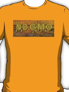 No GMO Crop Circle on a Van Gogh T-Shirt