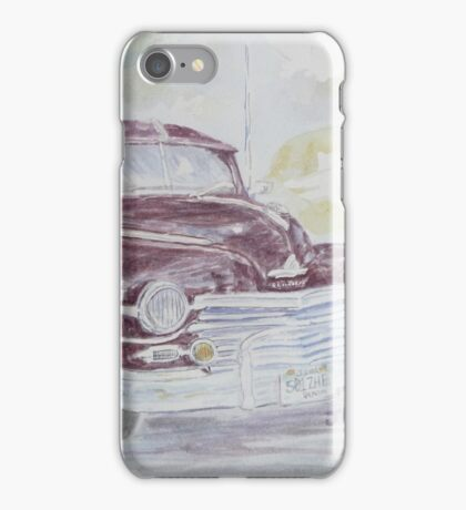 Purple Plymouth Special iPhone Case/Skin