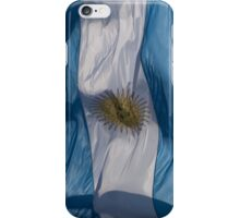 Waving Flag of Argentina From 2014 Winter Olympics iPhone Case/Skin