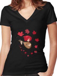 Kingkiller Women's Fitted V-Neck T-Shirt