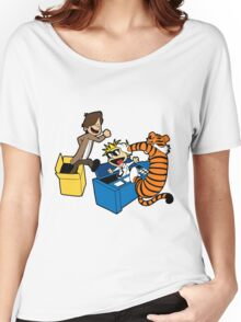 Doctor Who and Hobbes Women's Relaxed Fit T-Shirt
