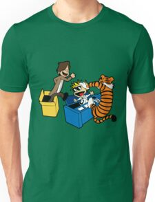 Doctor Who and Hobbes Unisex T-Shirt