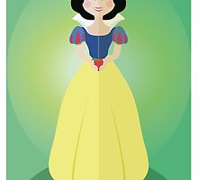 Symmetrical Princesses: Snow White by Jennifer Mark