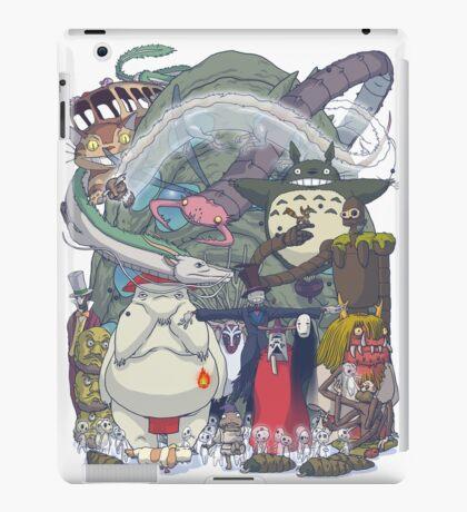 Miyazaki's Monsters II iPad Case/Skin