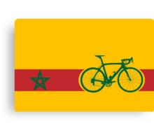 Bike Stripes Morocco Canvas Print