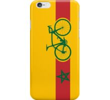 Bike Stripes Morocco iPhone Case/Skin
