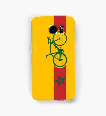 Bike Stripes Morocco Samsung Galaxy Case/Skin