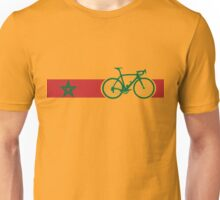 Bike Stripes Morocco Unisex T-Shirt