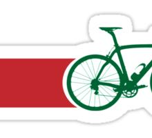 Bike Stripes Morocco Sticker