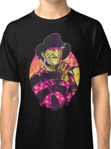 Neon Horror: Freddy  Classic T-Shirt
