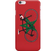Bike Flag Morocco (Big - Highlight) iPhone Case/Skin