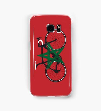 Bike Flag Morocco (Big - Highlight) Samsung Galaxy Case/Skin