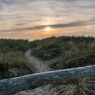 Pastel sunset in the dunes by steppeland