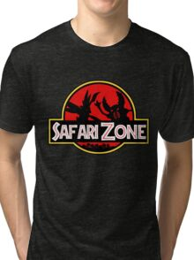 Jurassic Park - Safari Zone Tri-blend T-Shirt